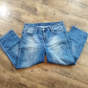Calvin Klein Jeans Cropped Straight Women's 30